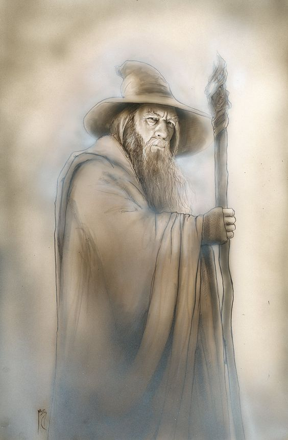 Gandalf The Grey by Menton 3